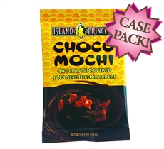 Choco Mochi Chocolate Covered Rice Crackers Snack Bag