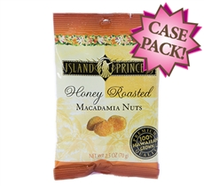Honey Roasted Macadamia Nuts 2.5oz Snack Bags (FS Case of 24 Bags)