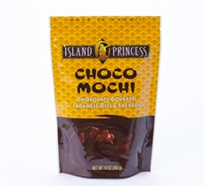 Choco Mochi Chocolate Covered Rice Crackers 10oz (3 Bags)