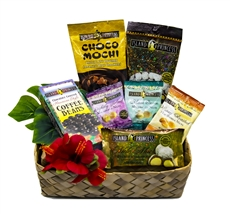 Hawaiian Gourmet Sampler Gift Set - Comes with 9 different snack bags that'll satisfy any sweet tooth cravings